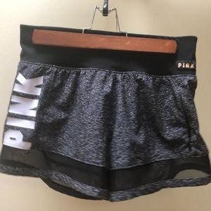 PINK mesh shorts with pocket
